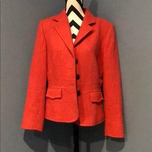 Harold's burnt orange women's blazer